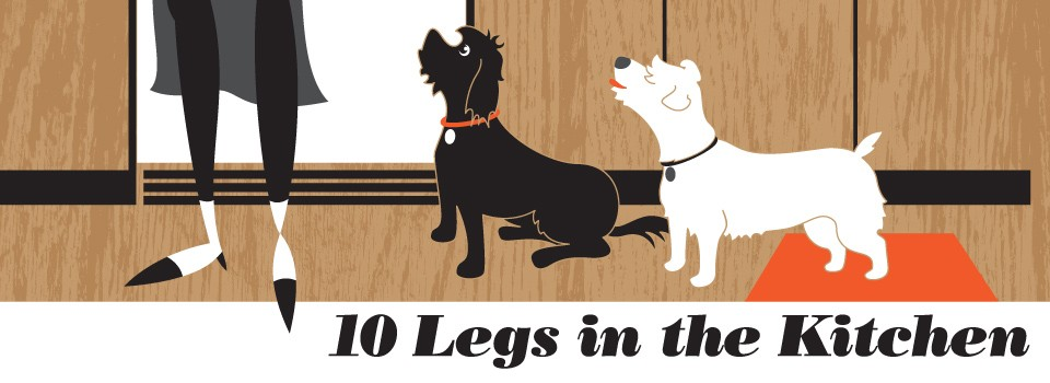 10 Legs in the Kitchen