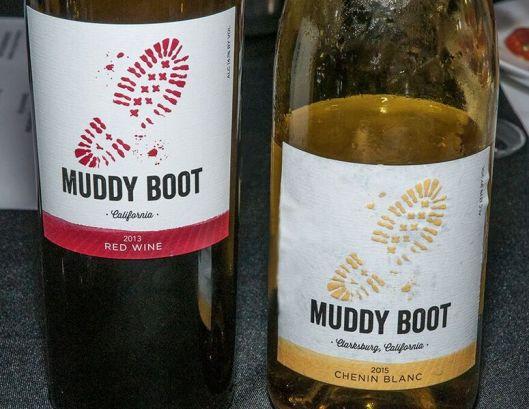 muddy boot